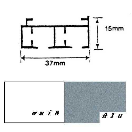 gardinenschiene f r fl chenvorh nge vorhangschiene gardinenschiene raumausstatterbedarf. Black Bedroom Furniture Sets. Home Design Ideas