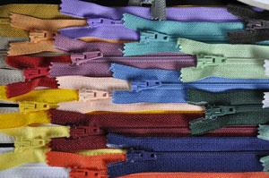 Tropfen Reißverschluss Opti S40 dunkelblau 50cm nicht teilbar